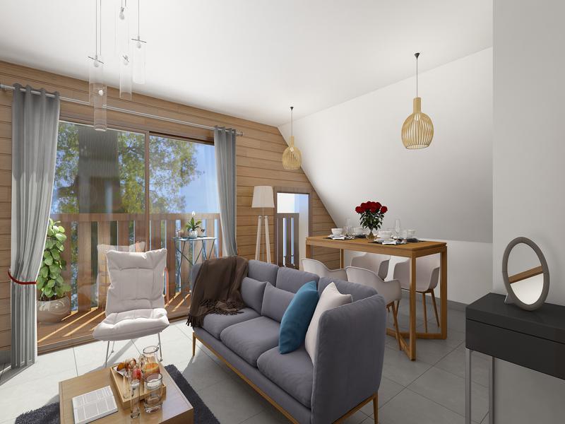 Appartement 3 pièces à vendre à LES CARROZ D ARACHES (74300) -  Haute Savoie