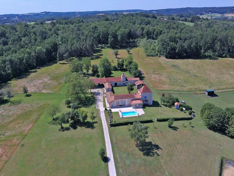 Terrain à vendre à STE CROIX DE MAREUIL(24340) - Dordogne