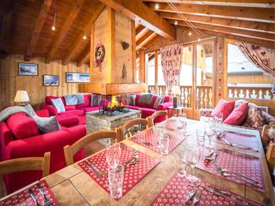 This great value 7-bedroom ski chalet is for sale in the ski-in/lift-out village of Le Bettaix and has fantastic rental potential as it is, or could be converted into a wonderful family chalet (Three Valleys) (Exclusive walk-through on Leggett Website)