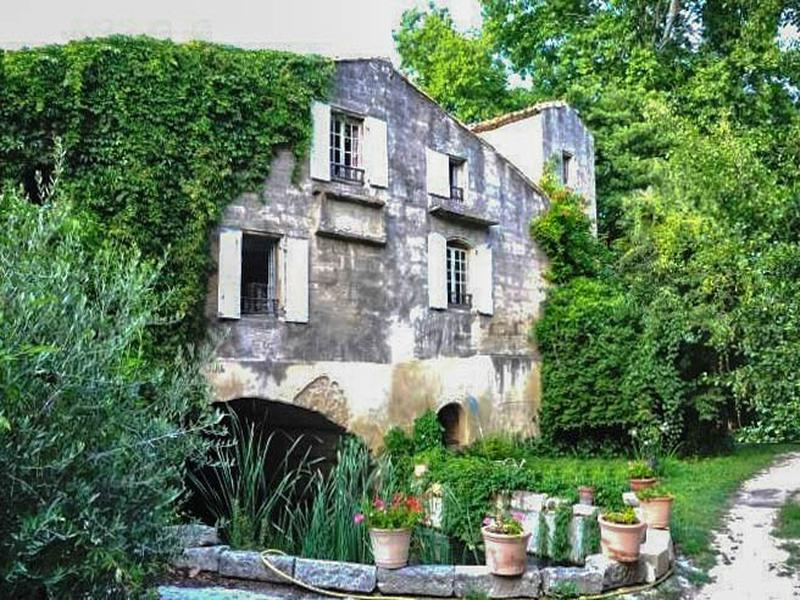 Mill For Sale In Uzes Gard Old Mill Of The 18th Landed On Its