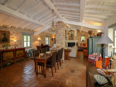 Stunning stone Mas with guest house, swimming pool and tennis court, on a plot measuring over 22,000m²