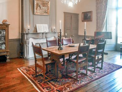 Magnificent manor house with origins dating back to the XII Century set in walled garden in the historic quarter of the popular fortified town of Avranches, with views to the Mont Saint Michel