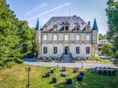 Magnificent domain of 23 acres with its Château and gentilhommière converted into a luxurious 120 bed complex.