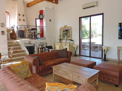 Beautiful villa with exceptional views stunning design with guest cottage and pool