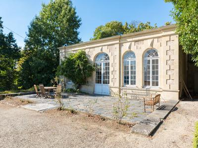 Impressive manor house over 3 floors plus large cellar and attic. Also has office and stables, set in parkland overlooking the Gâtine countryside.