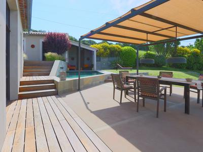 VIENS-  Quality, Comfort and Design: Sensational new-built villa with a separate studio. Stunning modern design in a quiet environment with splendid views. A must see!