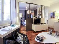 75018, à 2 pas de Montmartre, bel appartement de 2 pièces (T2) de 41m2 (voir 360 et plan) traversant, et orienté est et sud-ouest au 5e étage d'un immeuble des années 30 avec ascenseur, situé au coeur d'un quartier qui bouge avec ses cafés et terrasses à la mode.