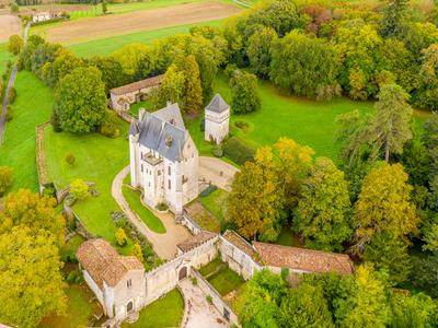 Picturesque Château, from the XV, to XVII centuries, a beautifully restored and maintained family home, set in the rolling Charente countryside, 20 minutes from Angoulême.