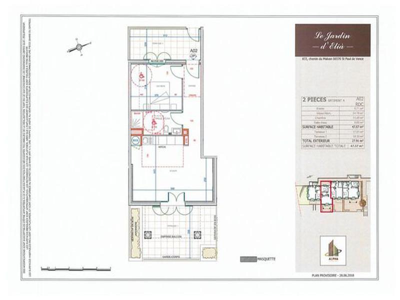 Maison à vendre à Saint Paul De Vence(06570) - Alpes-Maritimes