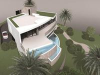 Saint Raphael villa 340M2 - 4 Chambres Vue Mer - 3 Bassins Piscine